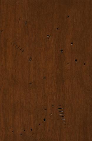 Big Time Clock Company cinnamon finish